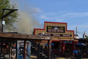 Fire at a Cave Creek bar and grill